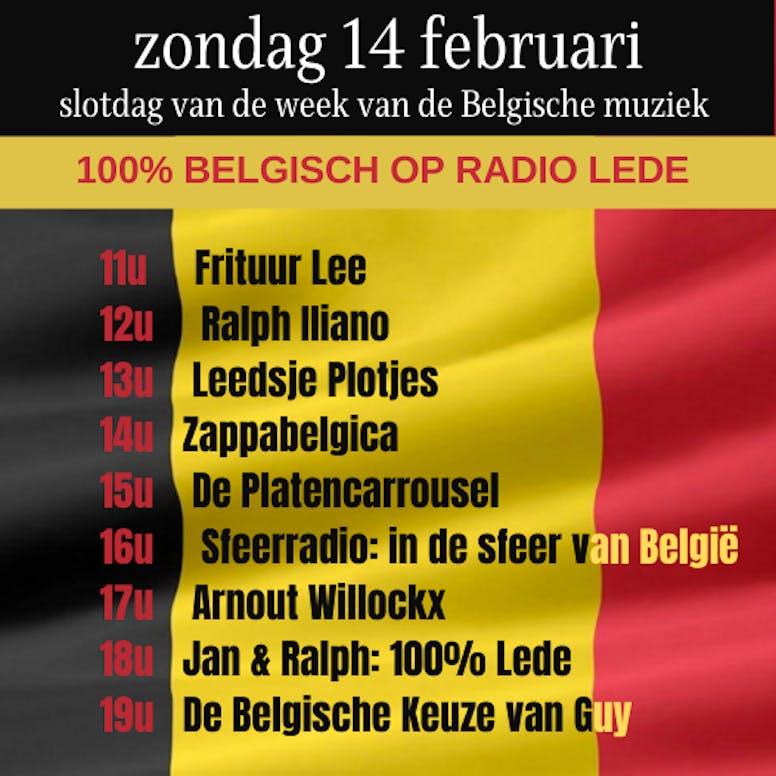Radio Lede draait een hele dag Belgisch