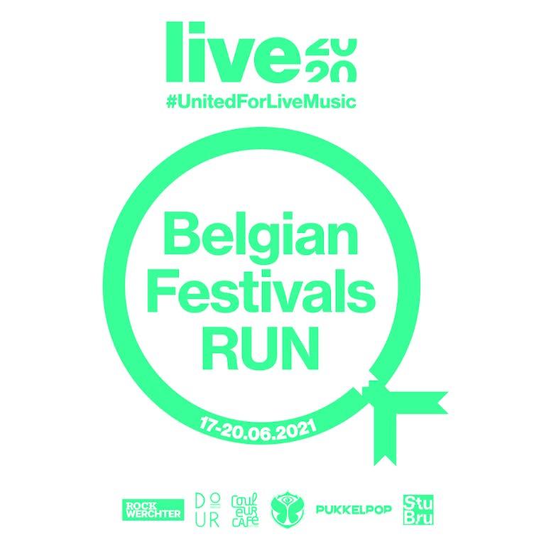 Loop voor LIVE2020 virtueel langs vijf Belgische topfestivals!