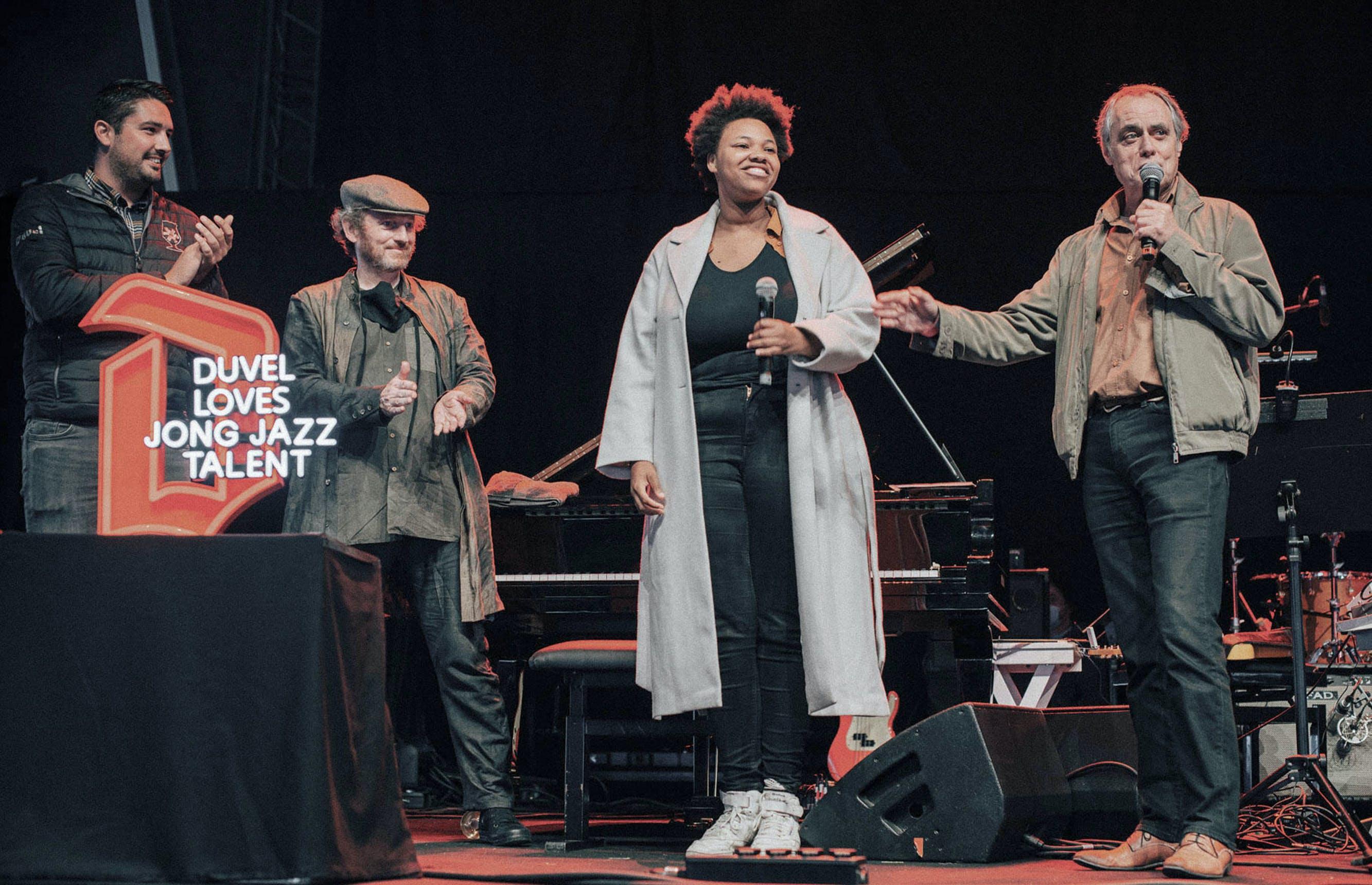 Nabou Claerhout wint Jong Jazztalent Gent 2021