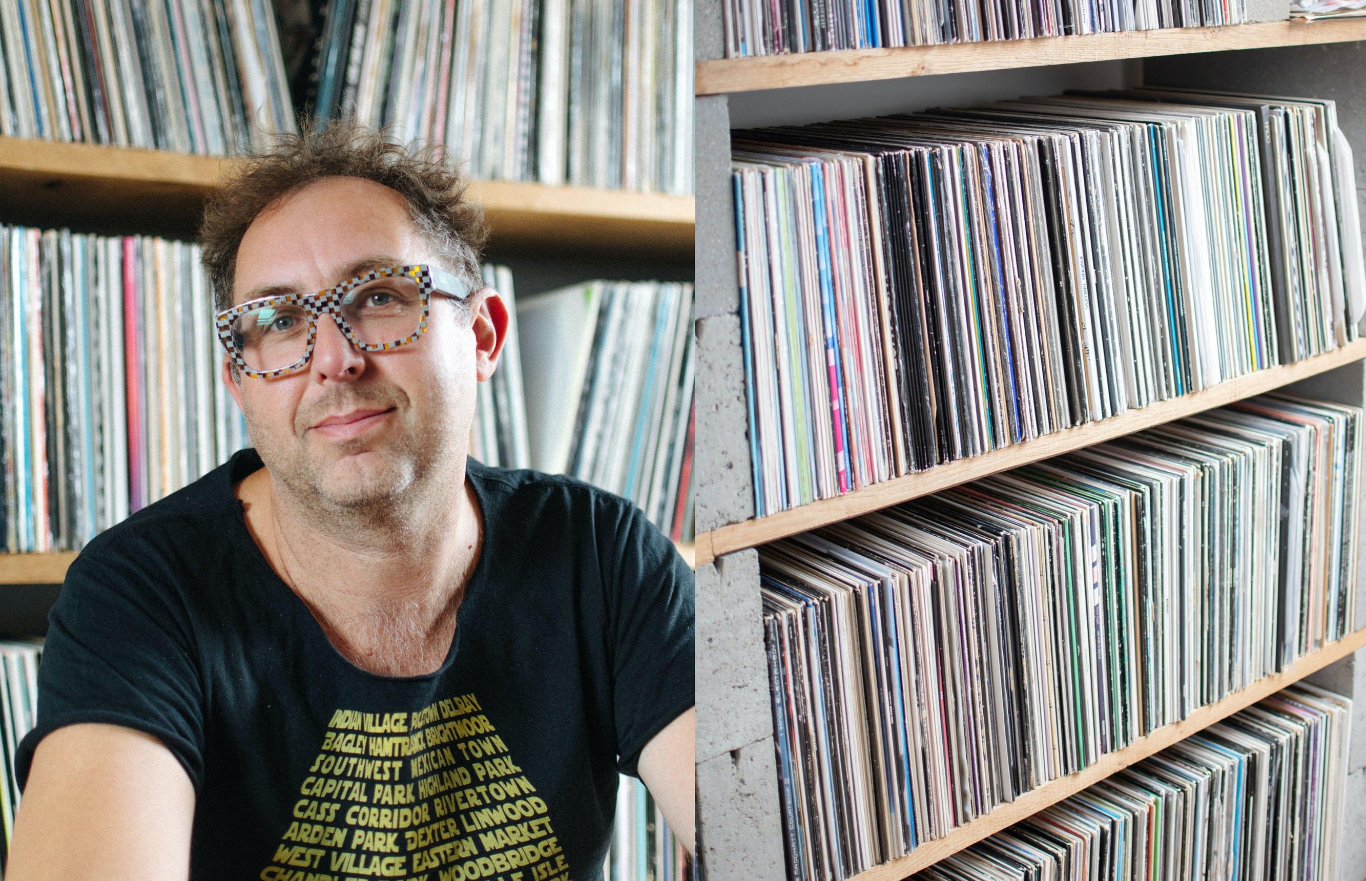 """Bart Van Neste (Red D): """"Door les te geven aan de kunstacademie ben ik zelf een betere dj geworden."""""""