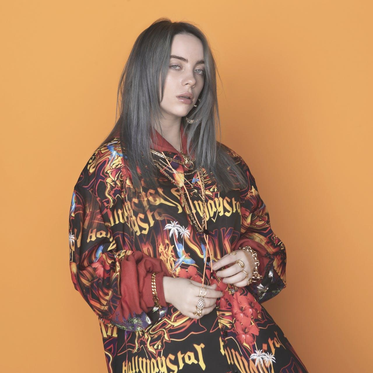 Billie Eilish leverde met Bad Guy de best presterende single van 2019 af.