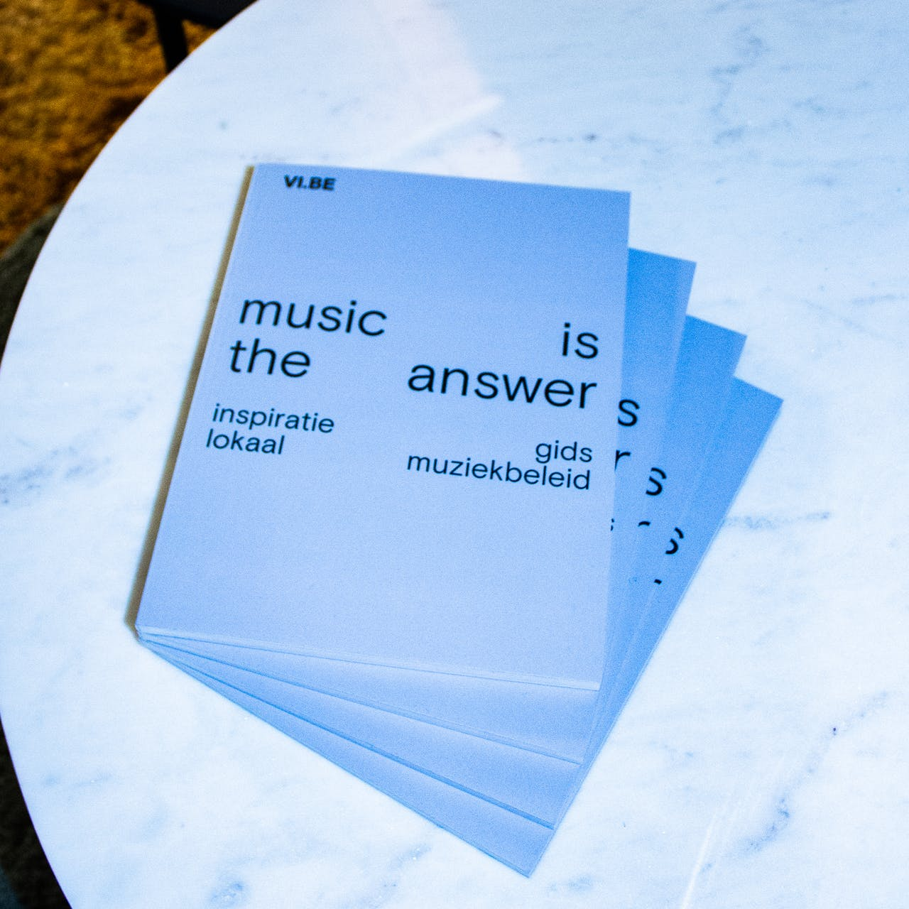'music is the answer' publicatie