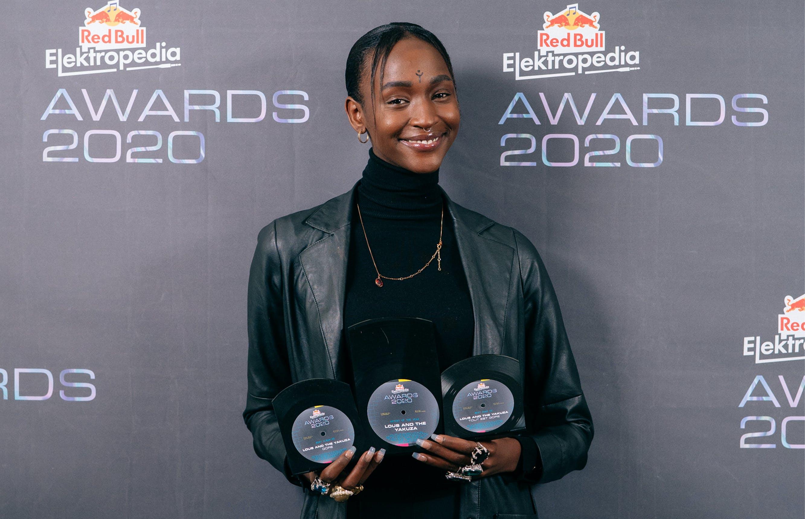Red Bull Elektropedia Awards voor Lous and The Yakuza en meer, veiling brengt €26.000 op voor LIVE2020
